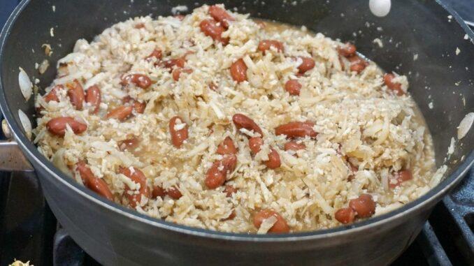 b101 myo jamaican cauliflower rice