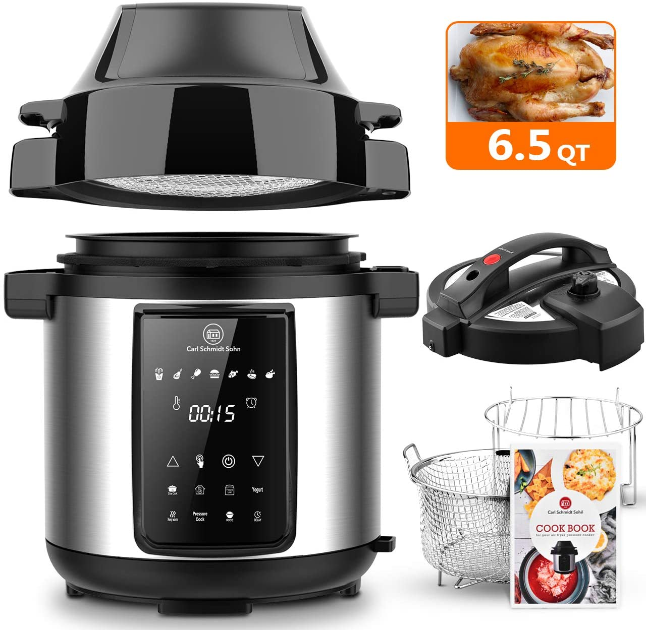 Carl Schmidt Sohn Pressure Cooker/Air Fryer Honest to goodness review