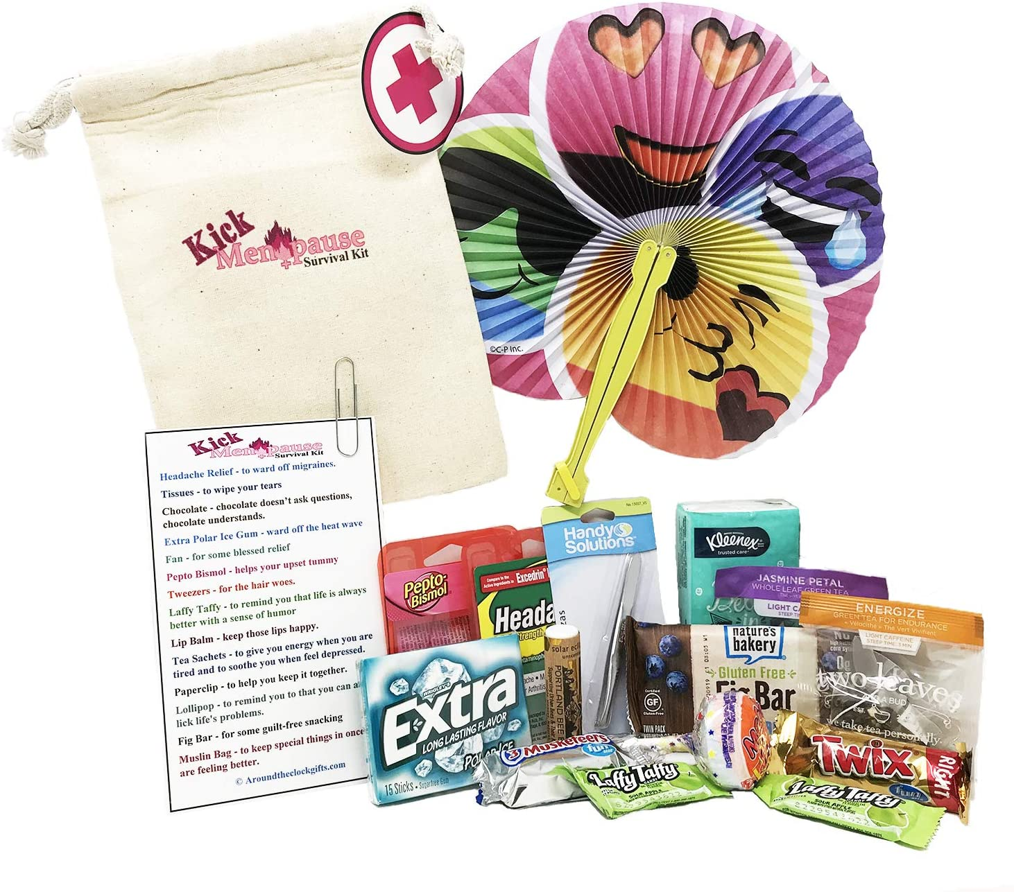Menopause survival Kit gift idea