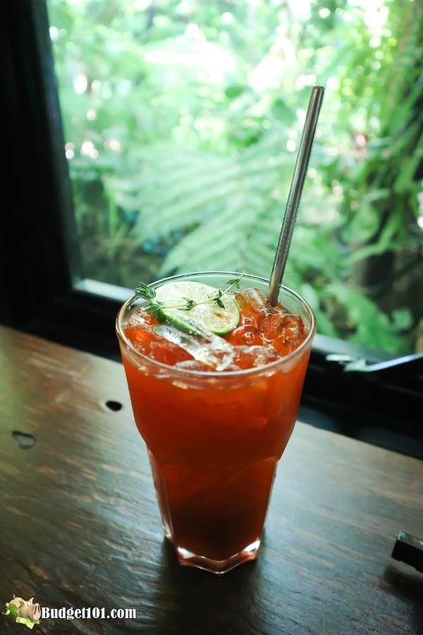 Cold Brew Strawberry Green Tea