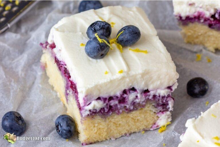 b101 lemon blueberry poke cake