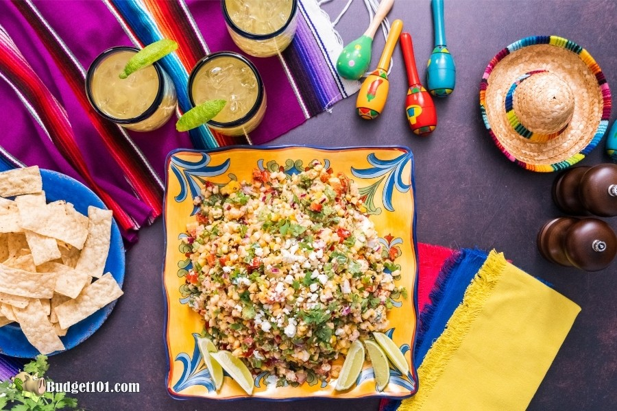 Delicious Mexican Street Corn Salad