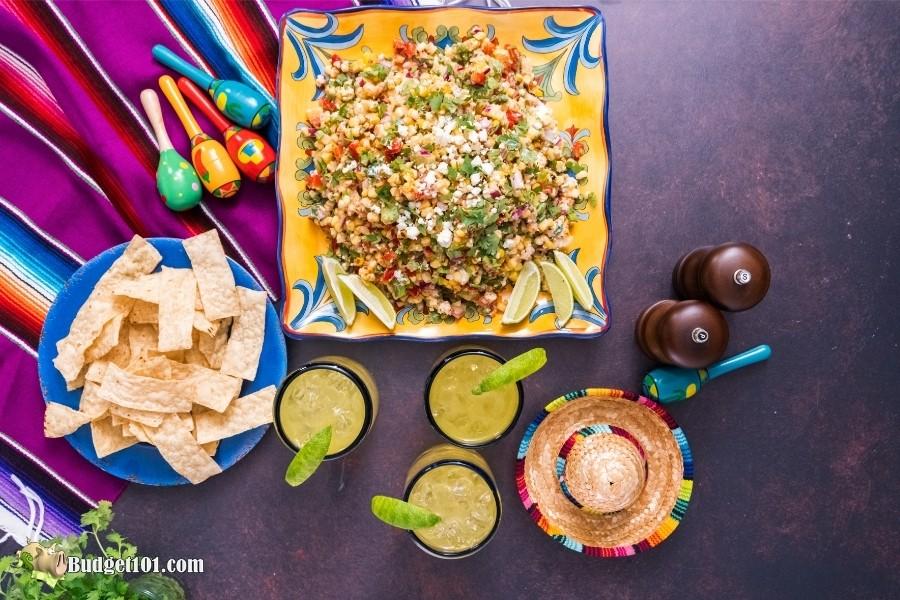 Mexican Street Corn Salad- budget101.com