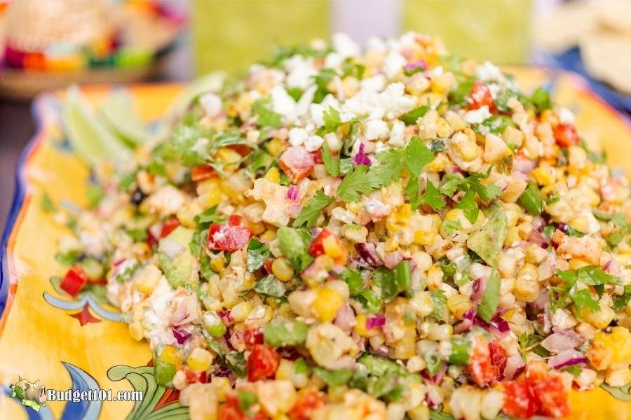 Mexican Street Corn Salad-