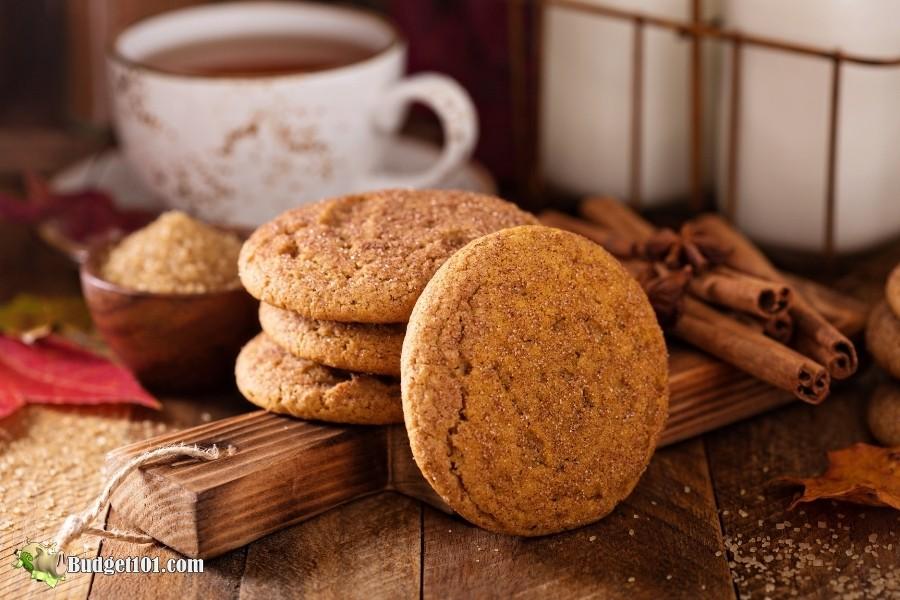 Pumpkin Snickerdoodle Cookies by Budget101.com