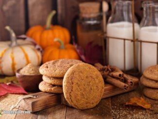 b101 pumpkin snickerdoodle cookies 4