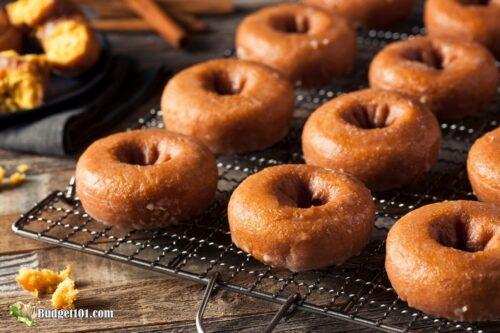 b101 pumpkin spice donuts 1