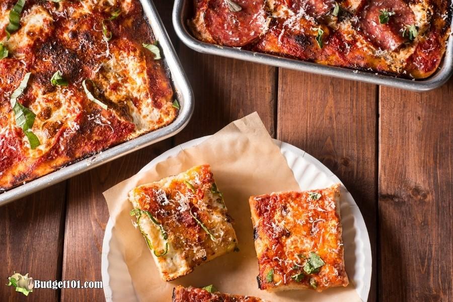 Pan Pizza- sheet pan dinner recipe