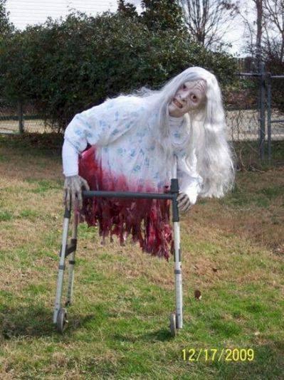 legless Zombie walker