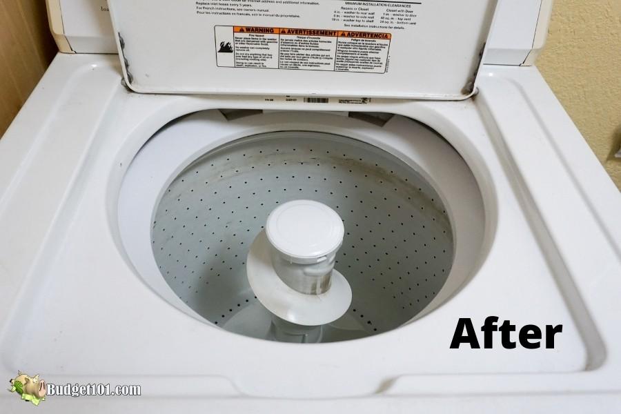 b101 affresh cleaner after