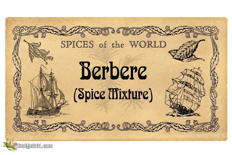 b101 berbere spice label