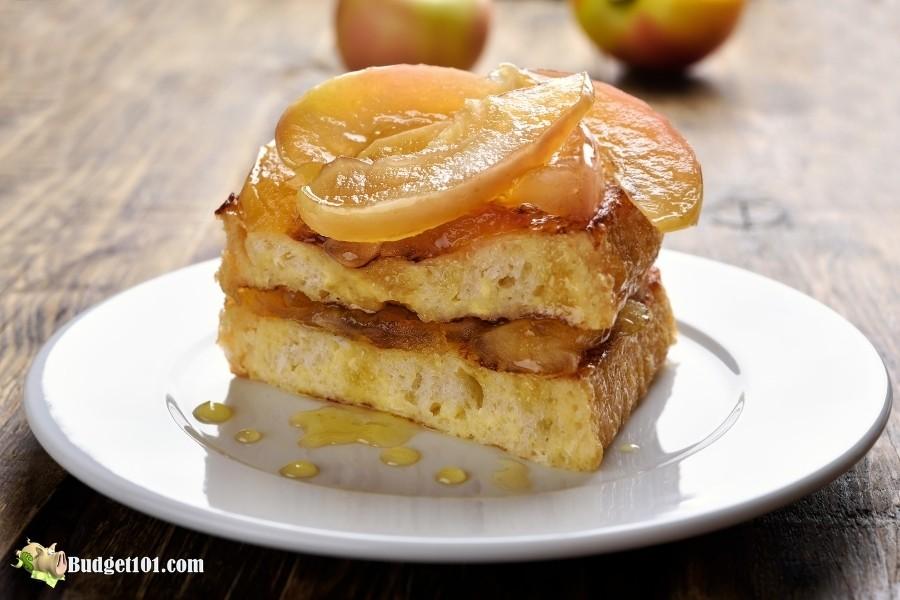 b101 cinnamon apple stuffed french toast