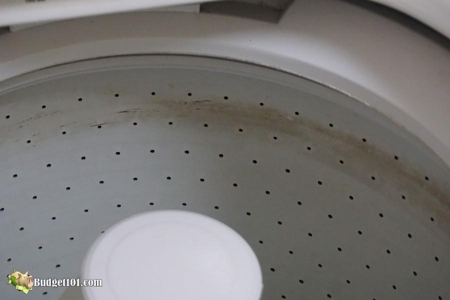 b101 deep clean dirty washing machine step 1