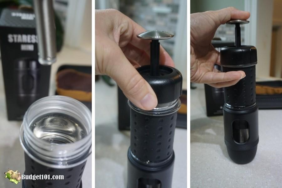 b101 espresso extraction staresso mini