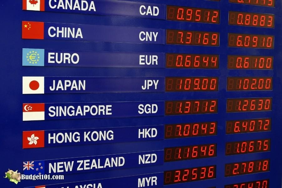 b101 shoestring travel money exchange