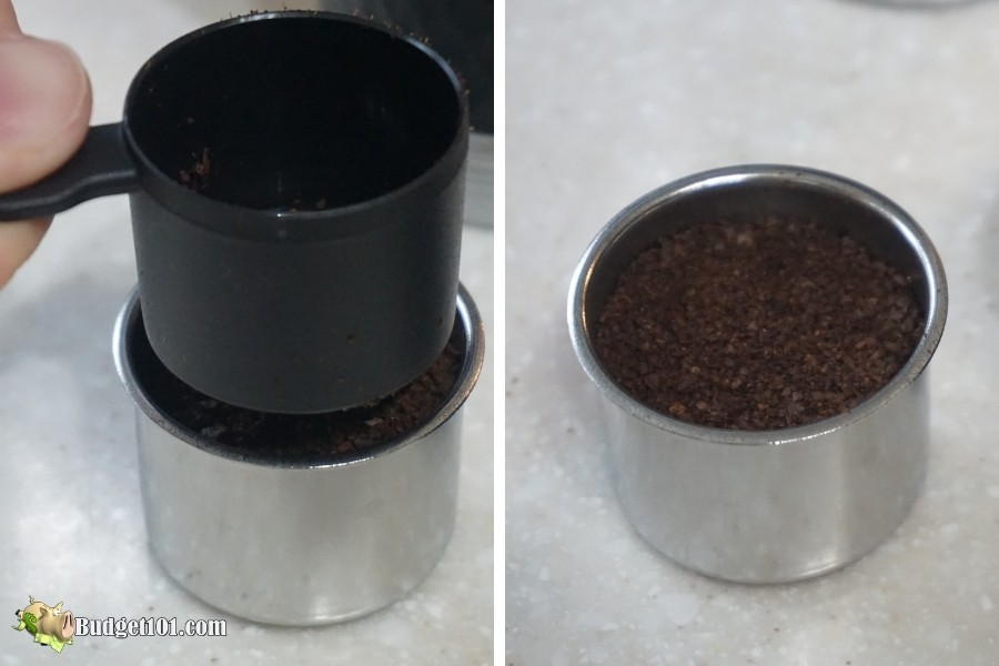 b101 tamper coffee