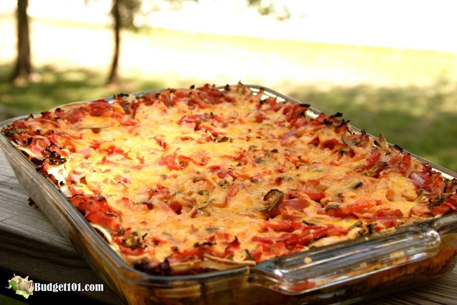b101 turkey enchilada bake casserole