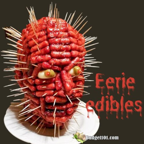 budget101 Hellraiser eerie edible centerpiece