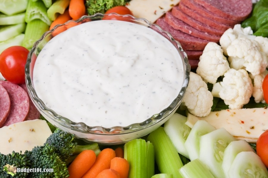 keto ranch dip dressing