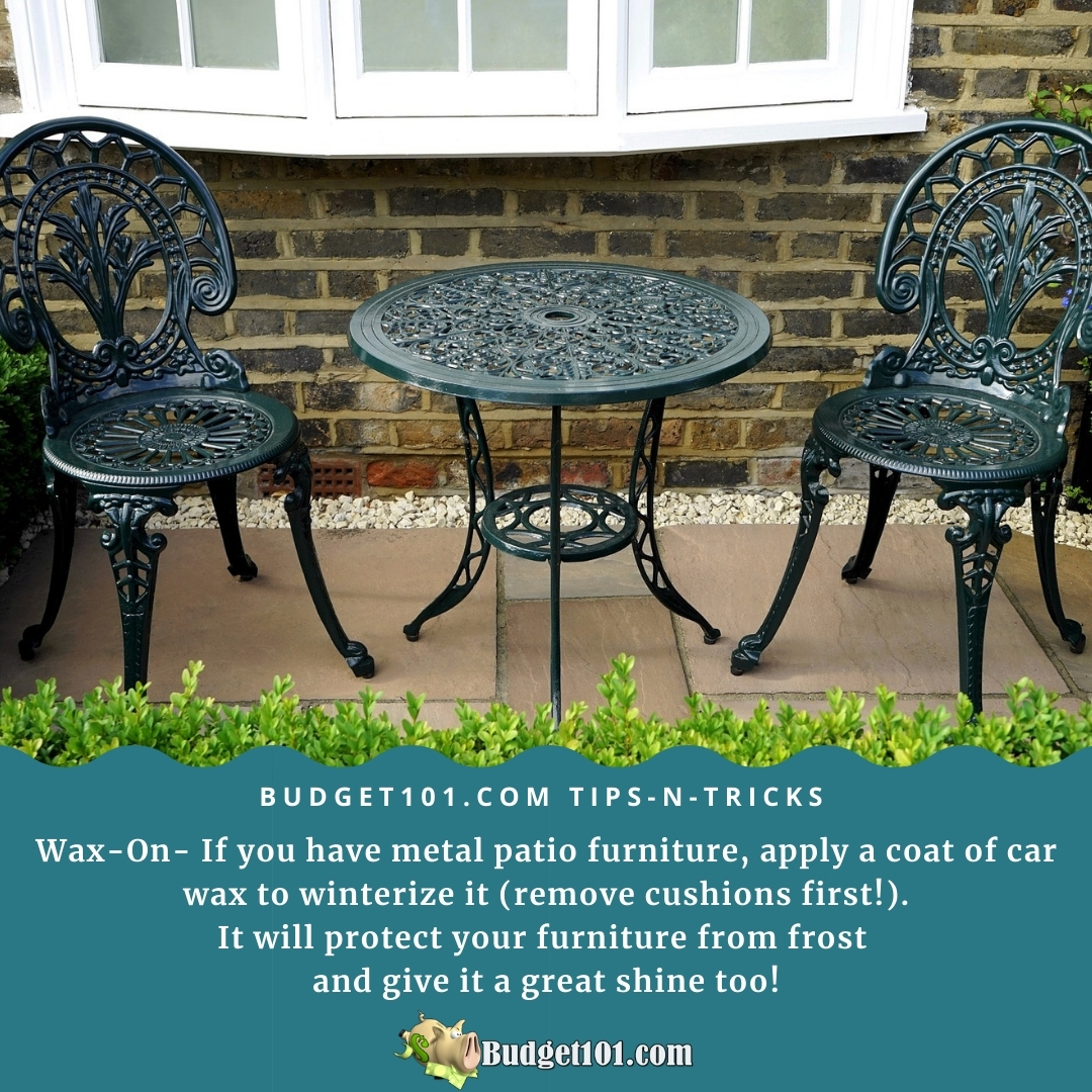 tips n tricks winterize patio furniture b101