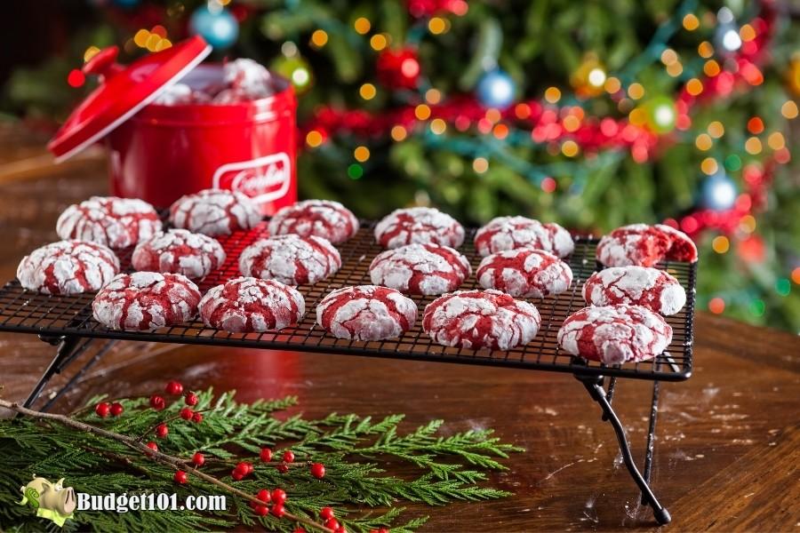 b101 christmas crinkle cookies