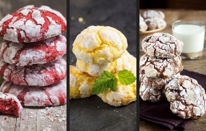 b101 crinkle cookies flavors