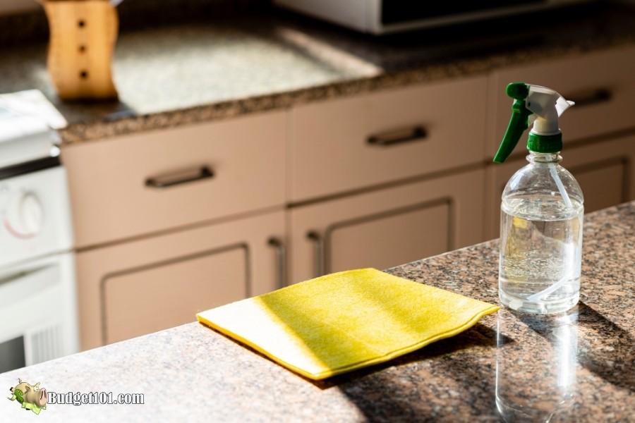 b101 home made granite cleanser