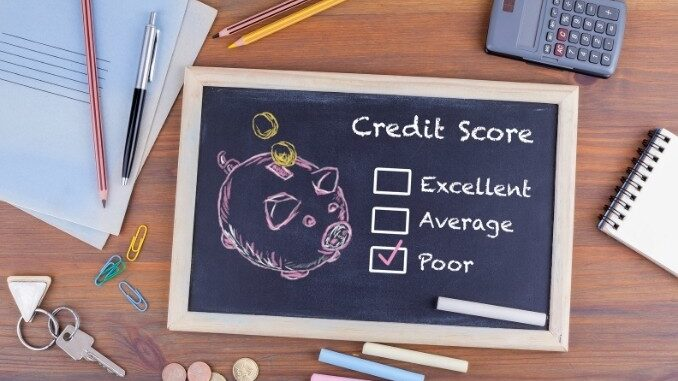b101 how to obtain poor credit loans