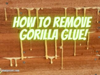 b101 remove gorilla glue from skin everything