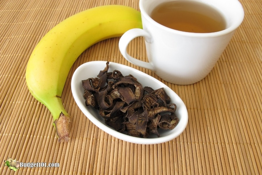 banana peel tea sleep aid