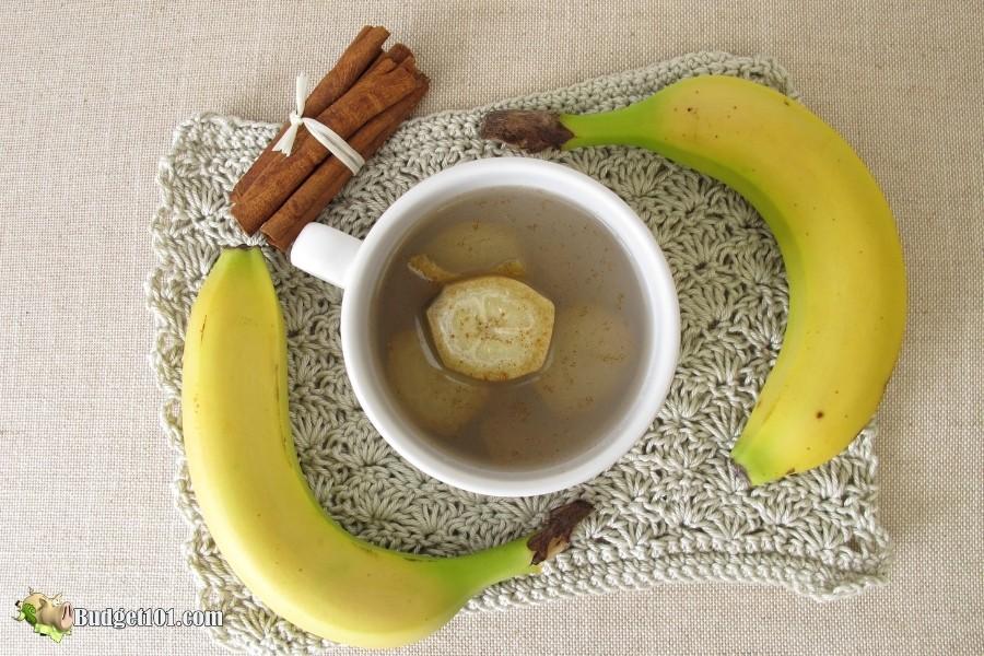 banana tea for headache relief