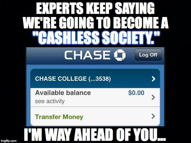 cashless college