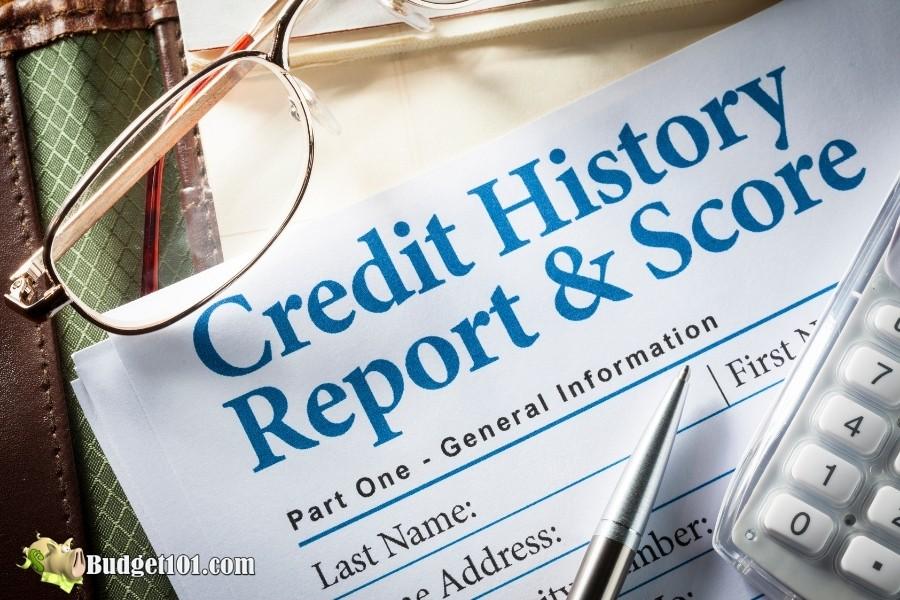 credit report history score