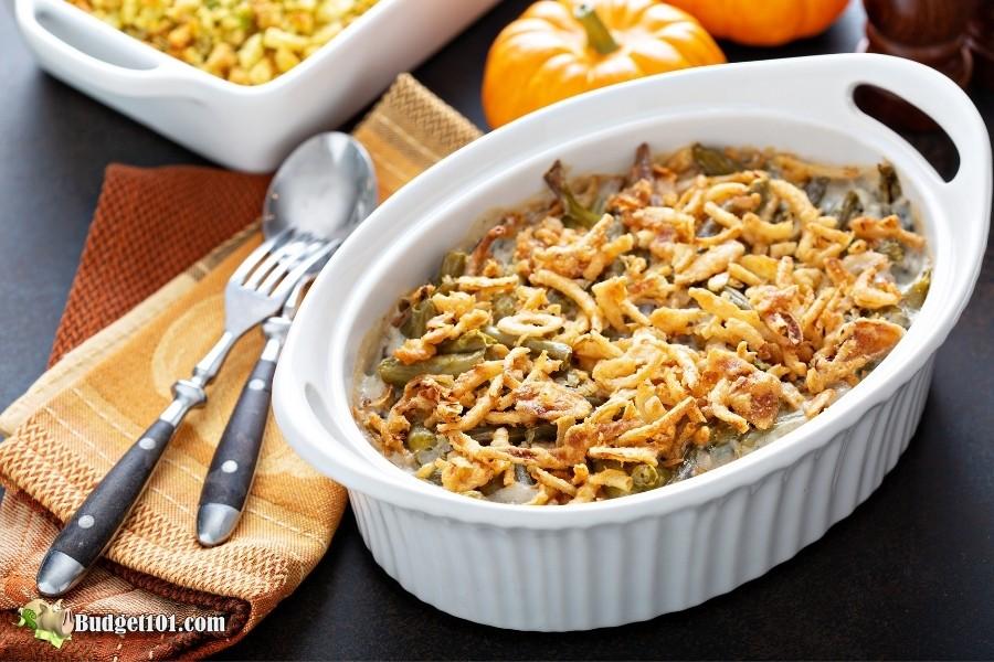 green bean casserole twist