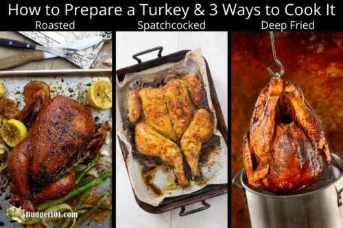 how to cook turkey 3 ways