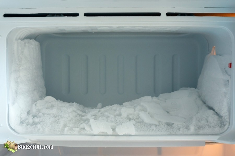 how to defrost freezer