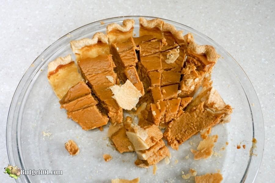 leftover pumpkin pie
