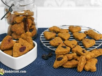peanut butter cranberry dog treats