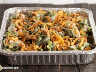 traditional green bean casserole by budget101