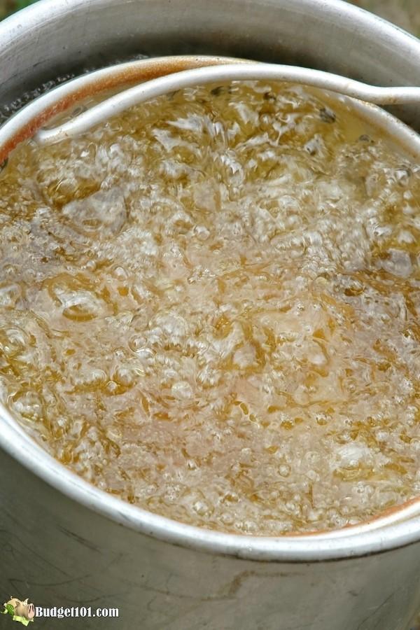 turkey frying in peanut oil