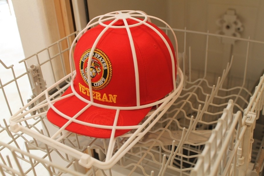 how to wash a baseball cap dishwasher