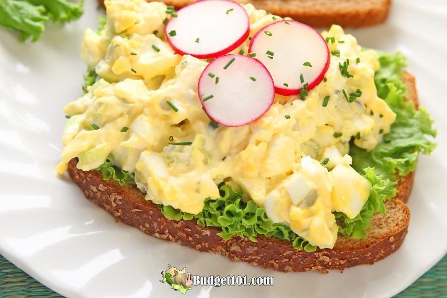 crunchy egg salad recipe
