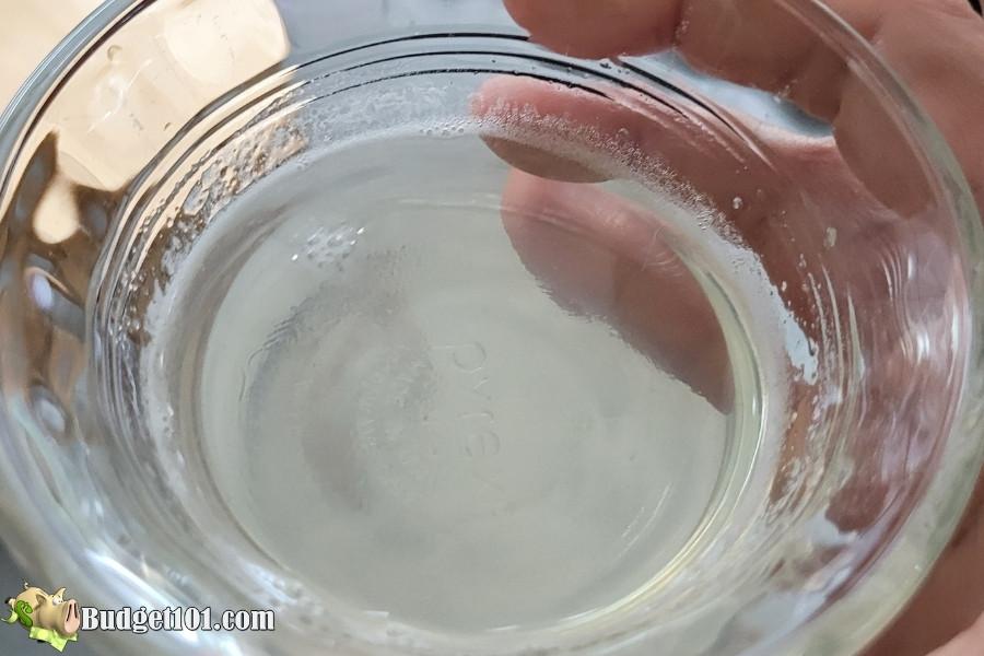 dissolved gelatin