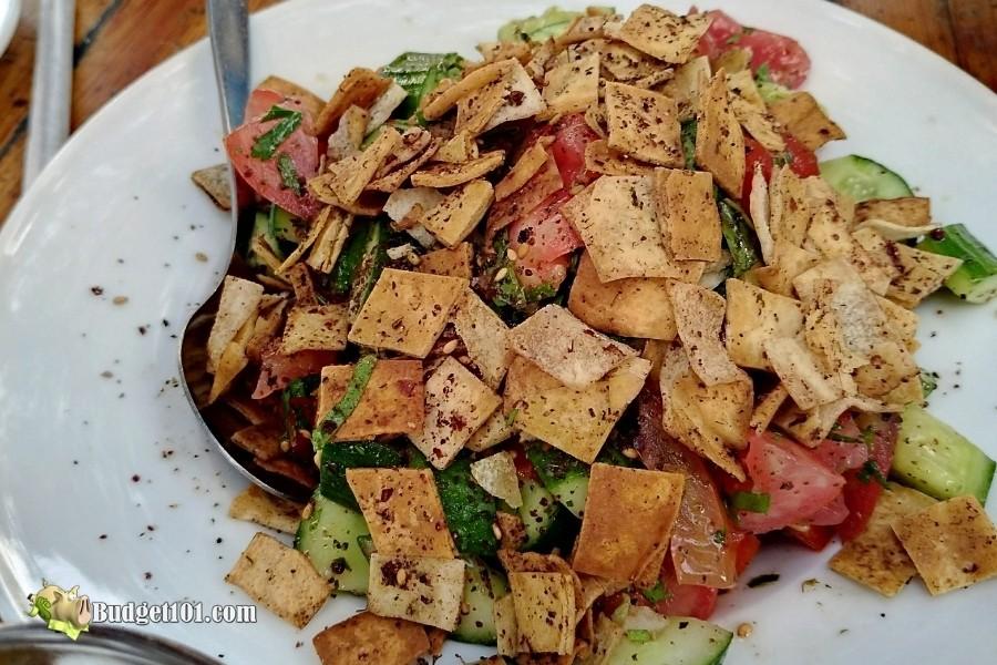 fattoush salad budget101