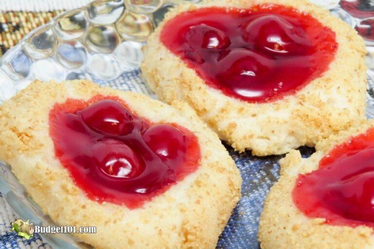 homemade cherry cheesecake cookies budget101