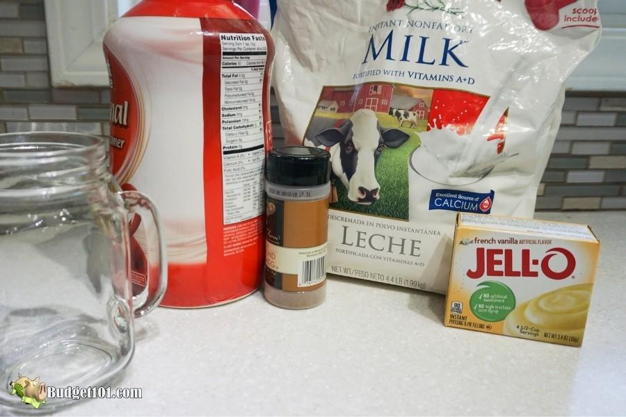 homemade eggnog mix ingredients