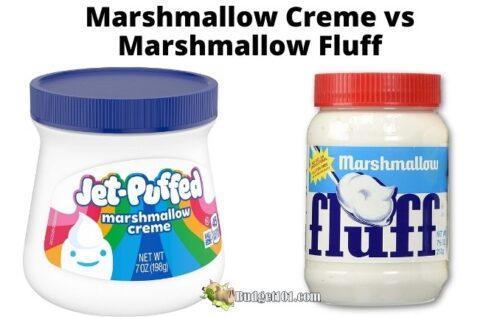 marshmallow creme vs fluff