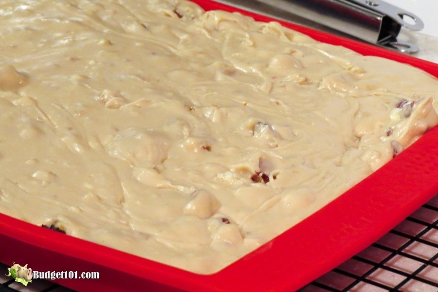 new england maple walnut fudge step 5