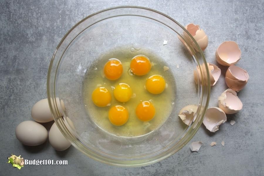 raw egg freezing tips