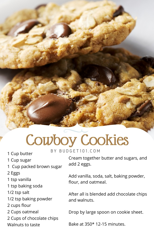 budget101 cowboy cookies